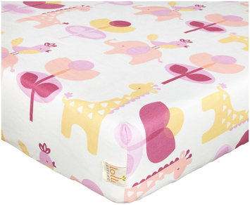 Living Textiles Lolli Living Surina Print Fitted Sheet