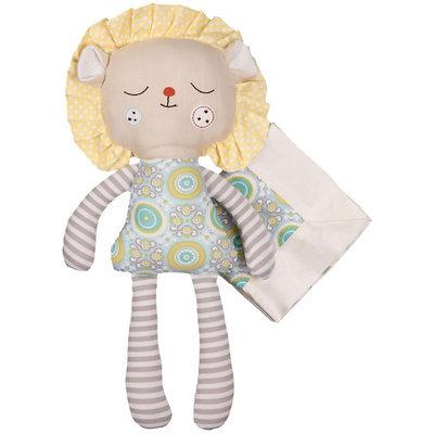 Living Textiles Lolli Living Softies Plush Toy - Louis Lion