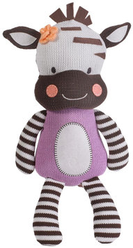Living Textiles Lolli® Zebra Knit Plush