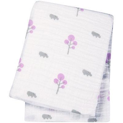 lulujo Muslin Cotton Swaddling Blanket - 1 ct.