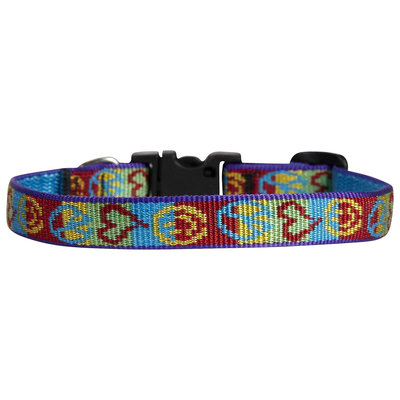 Lupine Peace Pup Half inch Adjustable Collar 10-16inches