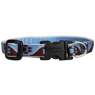 Lupine 1/2 X 8-12 Adjustable Muddy Paws Dog Collar