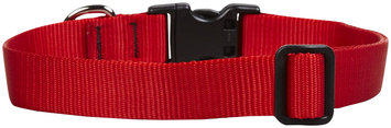 Findingking Lupine Adjustable Dog Collar - Red - 1 x 12-20 in