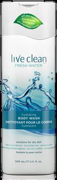 Live Clean Fresh Water Hydrating Body Wash
