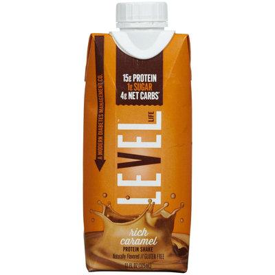 Level Life RTD Protein Shake Rich Caramel 4 Shakes
