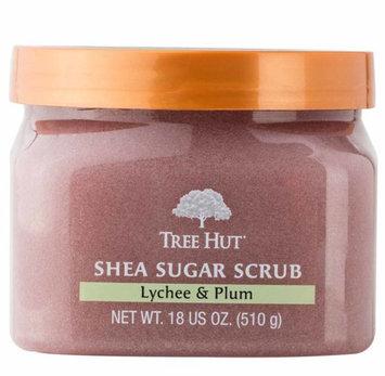 Tree Hut Lychee & Plum Shea Sugar Scrub