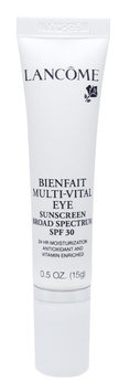 Lancôme Bienfait Multi-vital Eye SPF 30 24-hour Moisturizing Eye Treatment Antioxidant and Vitamin Enriched Broad Spectrum SPF 30 Sunscreen