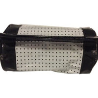 Lancôme Black and White Polka Dot Makeup Cosmetic Bag