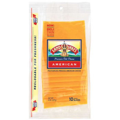 Land O'Lakes American Deli Sliced Yellow Cheese