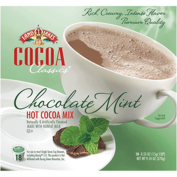 Land O'Lakes Cocoa Classics Chocolate Mint Hot Cocoa Mix