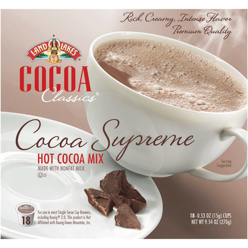 Land O'Lakes Cocoa Classics Cocoa Supreme Hot Cocoa Mix
