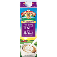 Land O'Lakes Rich & Creamy Fat Free Half & Half