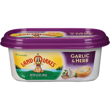 Land O'Lakes Garlic & Herb Butter Spread