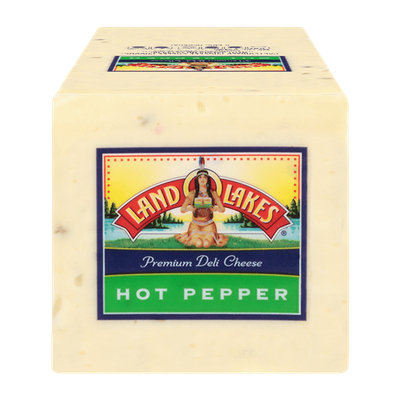 Land O'Lakes Hot Pepper with Jalapeno Deli Premium Cheese
