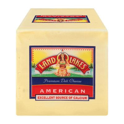 Land O'Lakes Premium American Slices White Cheese