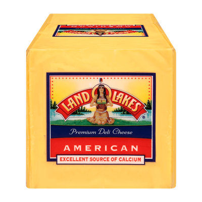 Land O'Lakes Premium American Slices Yellow Cheese