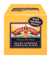 Land O'Lakes Premium Deli Cheese Sharp Cheddar American Blend