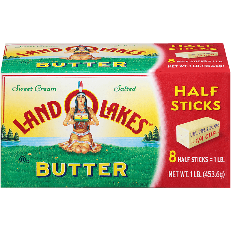Land O'Lakes Salted Butter in Half Sticks