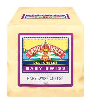 Land O' Lakes Baby Swiss Cheese