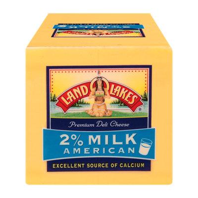 Land O'lakes 2% Milk Yellow American Cheese