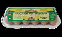 Land O'lakes All-natural Farm Fresh Eggs Extra Large Brown