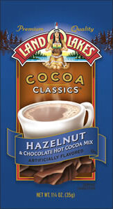 Land O'lakes Cocoa Classics Hazelnut & Chocolate Hot Cocoa Mix