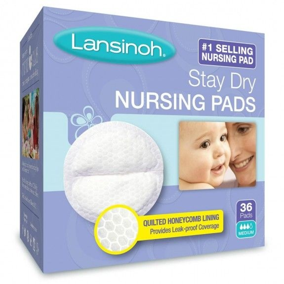 Lansinoh® Stay Dry Disposable Nursing Pads