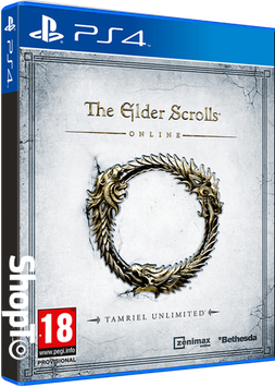 The Elder Scrolls Online Tamriel Unlimited PS4 Game