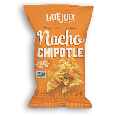 Late July® Snacks Clasico Tortilla Chips Nacho Chipotle