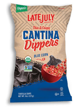 Late July® Snacks Cantina Tortilla Chips Blue Corn