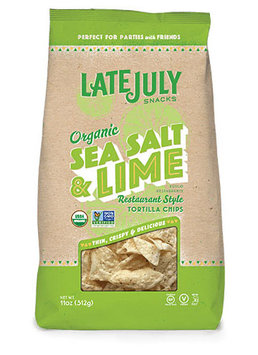 Late July® Snacks Restaurant Style Tortilla Chips Organic Sea Salt & Lime