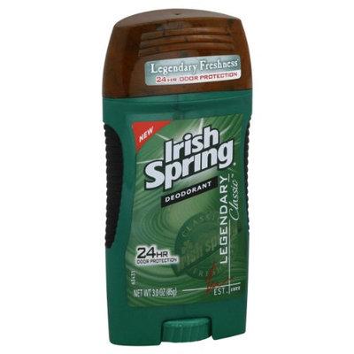Irish Spring Deodorant Legendary Classic