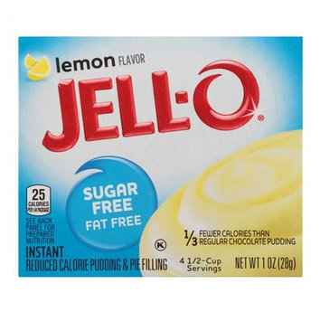 JELL-O Lemon Instant Reduced Calorie Pudding & Pie Filling