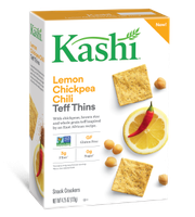 Kashi® Lemon Chickpea Chili Teff Thins Snack Crackers