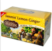 Celestial Seasonings® Lemon Jammin' Lemon Ginger Herbal Tea Caffeine Free