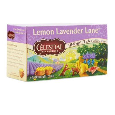 Celestial Seasonings® Lemon Lavender Lane Herbal Tea Caffeine Free