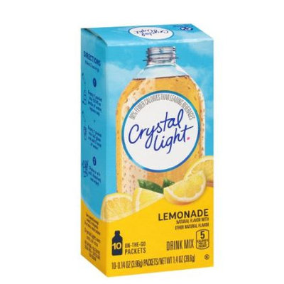 Crystal Light On the Go Lemonade Drink Mix 4 ct Packets