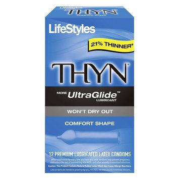 LifeStyles THYN Lubricated Condoms
