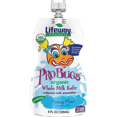 Lifeway Organic Pretty Plain ProBugs Whole Milk Kefir