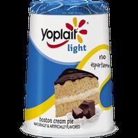 Yoplait® Light Boston Cream Pie Chocolate Flavored Crumbles With Yogurt