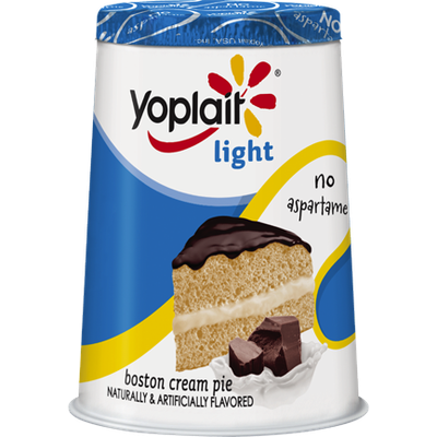 Yoplait® Boston Cream Pie Light Yogurt with Chocolate Flavored Crumbles
