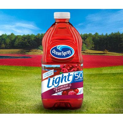 Ocean Spray Light Cranberry & Raspberry flavored Juice Drink
