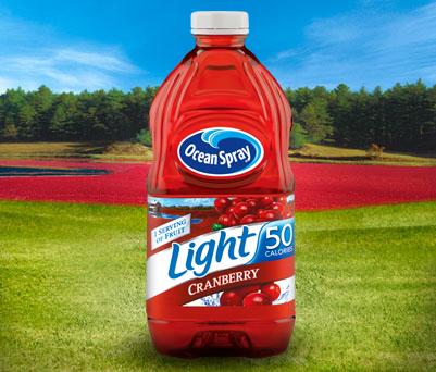 Ocean Spray Light Cranberry Juice Drink