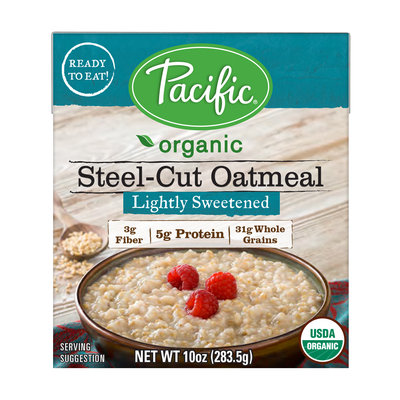 Pacific Organic Oatmeal - Lightly Sweetened