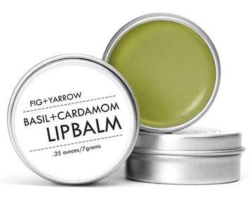 Fig + Yarrow Basil+cardamom Lip Balm