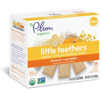 Plum Organics Little Teethers Banana With Pumpkin