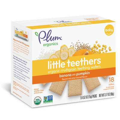 Plum Organics Little Teethers Banana With Pumpkin