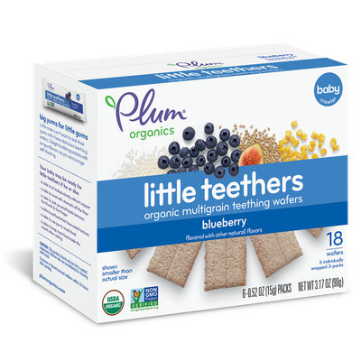 Plum Organics Little Teethers Blueberry