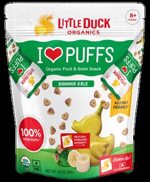 Little Duck Organics Banana Kale Puffs