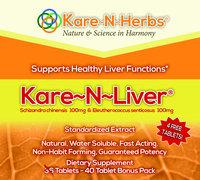 Kare-N-Herbs Kare-N-Liver - 40 Tablets